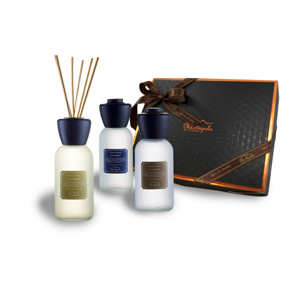Home Scent Gift Set, 3x60ml Home Scents (Eucalyptus, Lavender, Lemongrass)