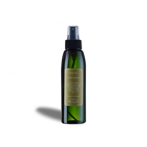 Body Mist, Lemongrass, 165ml.