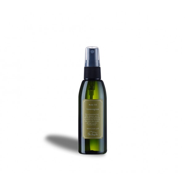 Body Oil, Lemongrass, 105ml.