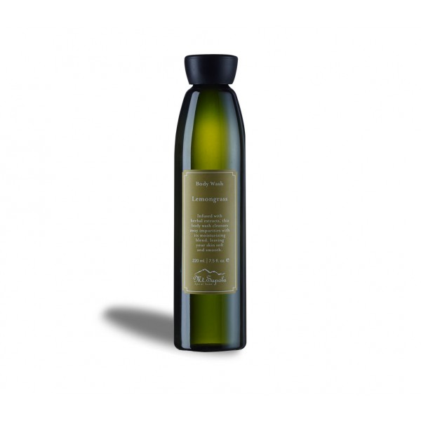 Body Wash, Lemongrass, 220ml.