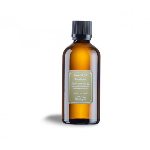 Essential Oil, Eucalyptus, 100ml.