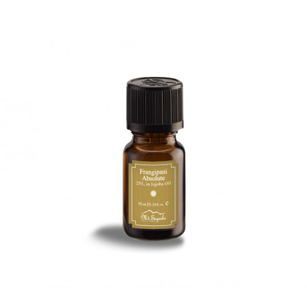 Frangipani Absolute Essential Oil 25%, in Jojoba Oil, 10ml.
