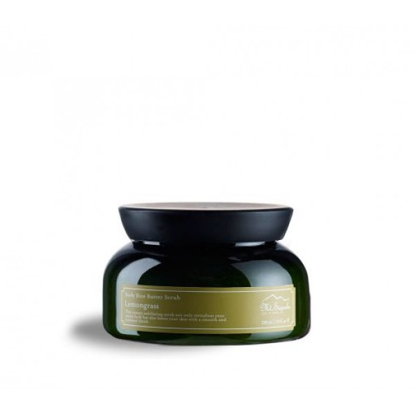Body Rice Butter Scrub, Lemongrass, 230ml.
