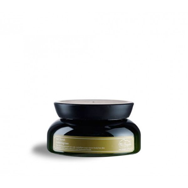 Salt Scrub, Lemongrass, 270g.