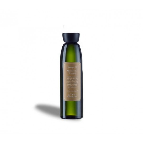 Massage Oil, Mandarin-Orange, 165ml.