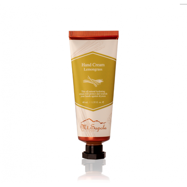 Hand Cream, Lemongrass, 40ml.