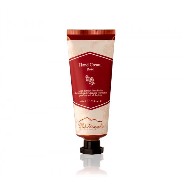Hand Cream, Rose, 40ml.