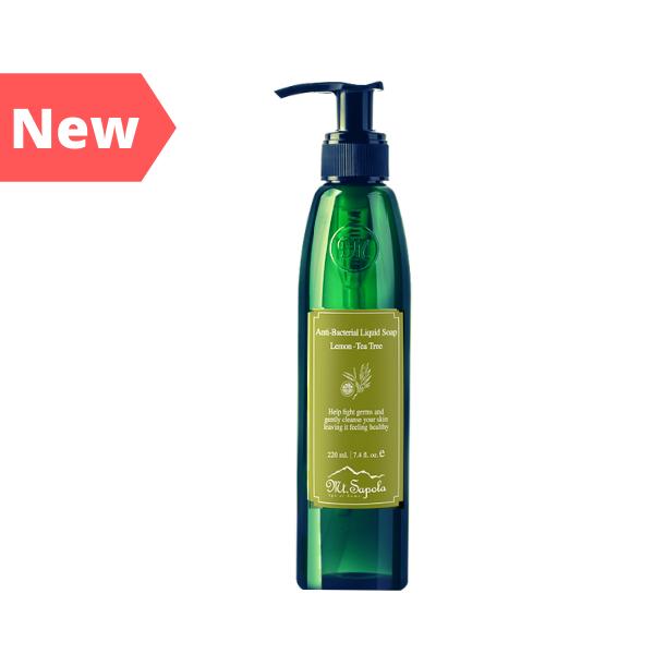 Anti-Bacterial Liquid soap, Lemon-Tea Tree 220ml