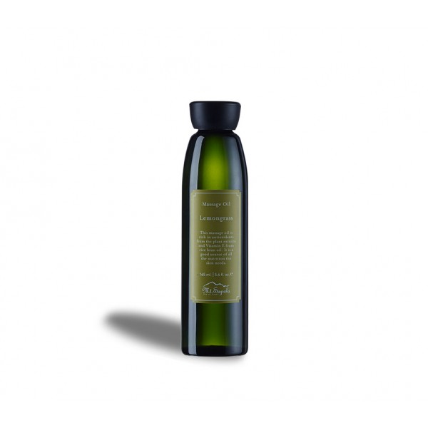 Massage Oil, Lemongrass, 165ml.