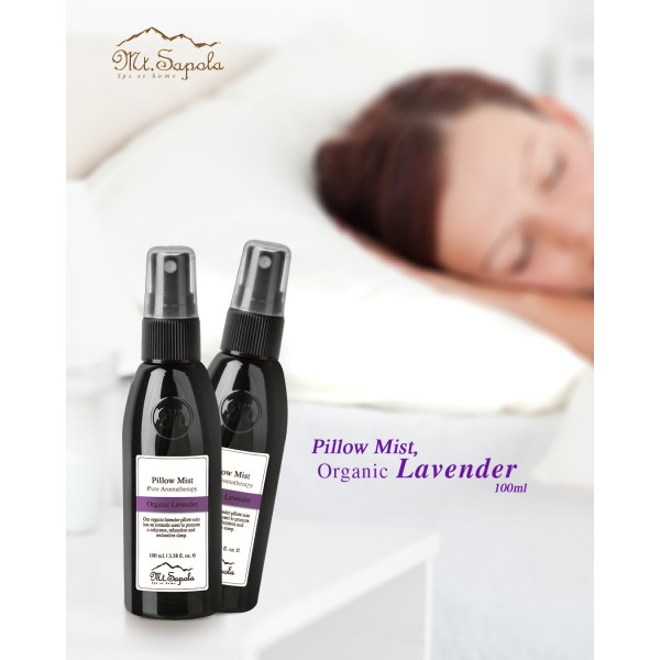 Pillow Mist, Organic Lavender, 100ml.