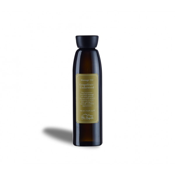 Massage Oil, Grapefruit-Cedarwood, 165ml.